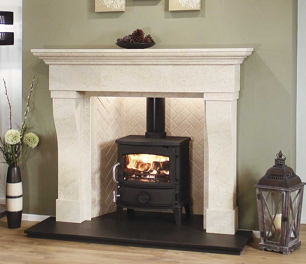 fire surround wood burning stove round designs